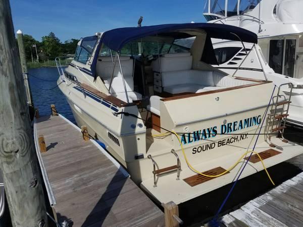 Photo Sea Ray 1982 360 Express Cruiser - $17,900 (Wading River)
