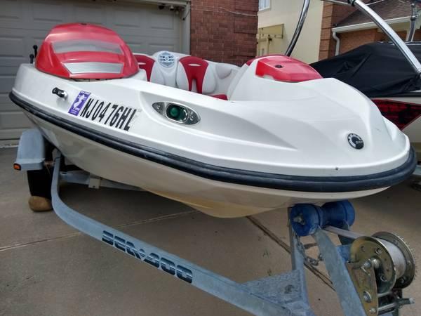 Photo Seadoo Speedster 150 Jet Boat Sea Doo Jetboat - $7,999 (lake success, NY)