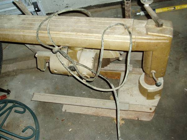 Photo Sears Craftsman Radial Arm Saw - $60 (Floral Park)