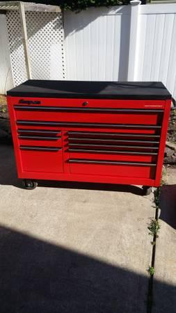 Photo Snap-On 55quot Tool Box WAccessories - $2200 (Farmingdale Area)