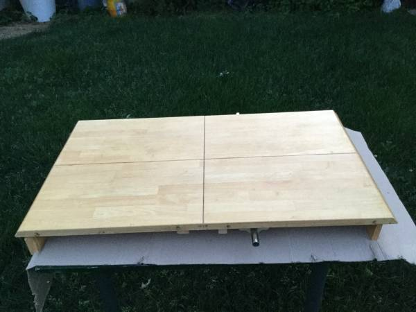 Photo Table Top Shelve unit for Monitor PC Mac or Dining Room - $40 (Brentwood)