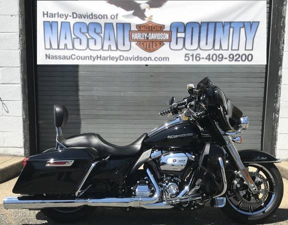 Photo U2754 2018 HARLEY-DAVIDSON FLHTKL ULTRA LIMITED LOW FOR SALE - $24,430 (BELLMORE NY)