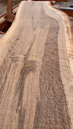 Photo White Oak live edge slabs 2quot thick - $125 (middle island)