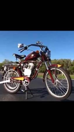 Photo Whizzer Schwinn motorbike - $1295 (Northport)