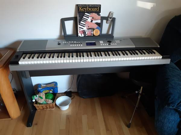 Photo YAMAHA DGX-530 PORTABLE GRAND DIGITAL PIANO - $300 (Centereach)
