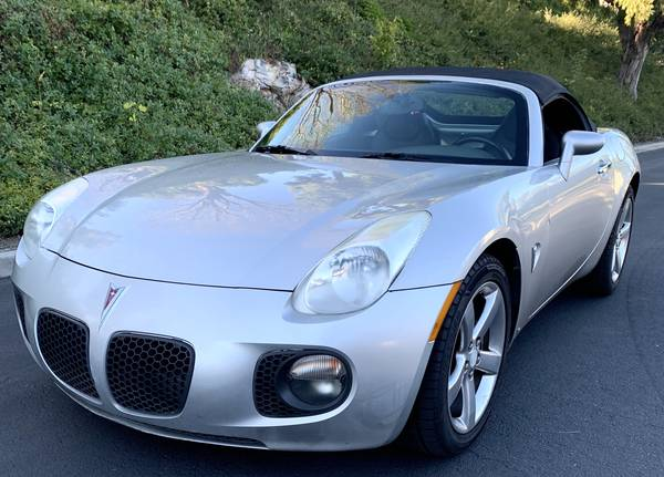 Photo 07 Pontiac Solstice GXP Turbo New SmogRegistration,Clean CarFaxTitle - $6990