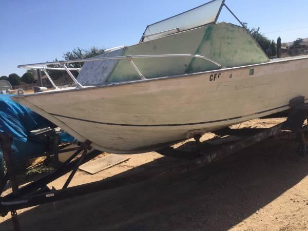 Photo 17. Foot boat - $550 (Quartz hill ca)