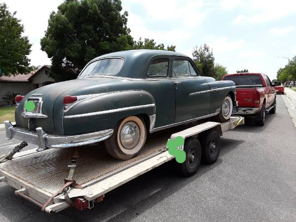 Photo 1949 Chrysler New Yorker 2 Dr Sport coupe,No emails - $6100 (Fresno)