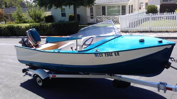 1958 vintage Lonestar boat - $5,555 (La Crescenta)