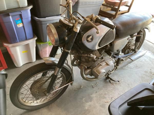 Photo 1965 Honda Superhawk 305cc - Summer project anyone - $2,900 (Long Beach)