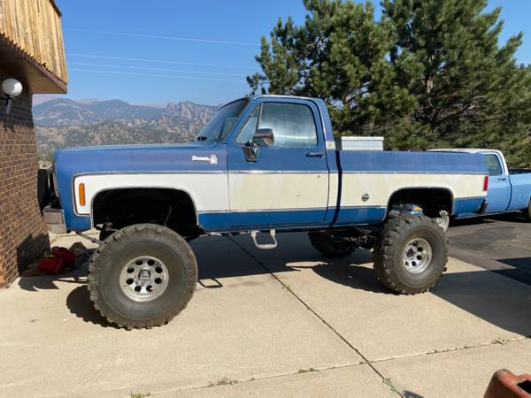 Photo 1973 chevy k10 short bed 4x4 $18,000obo - $18,000 (Temple city)