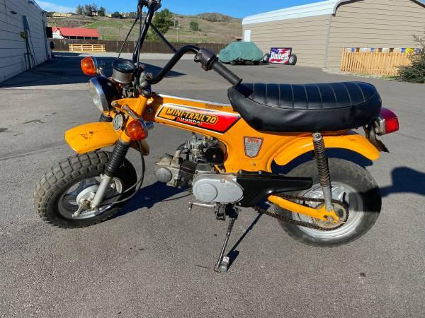 Photo 1979 Honda CT70 Trail - $1500 (Yucaipa)