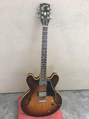 Photo 1982 Gibson ES-335 Dot - $3,500 (South Coastal)