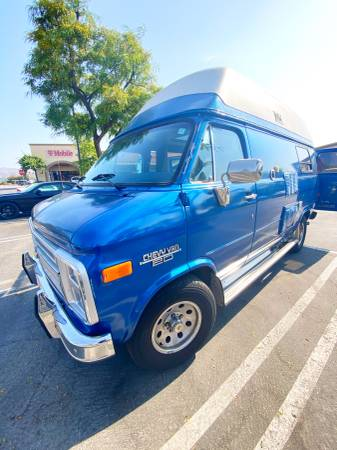 Photo 1989 Chevy G20 Chinook High Top RV Remodeled (Open To Offers) - $16,500 (simi valley)