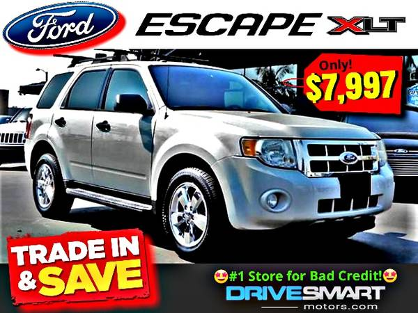 Photo 1 STORE FOR BAD CREDIT NO CREDIT  BEAUTIFUL 2009 FORD ESCAPE XLT - $7,997 (1 YELP DEALER LOWEST PRICES BEST FINANCING 714-852-8496)