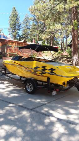 Photo 2006 Reinell 191 LSE Open Bow Boat and Trailer - $19,500 (Santa Clarita)