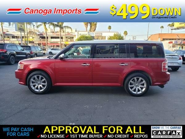 Photo 2009 Ford Flex Limited (- $499.00 Down o.a.c. FREE CARFAX Bad Credit OK)