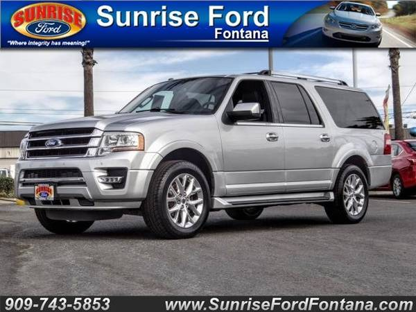 Photo 2017 Ford Expedition EL LIMITED X  CALL TODAY .. DRIVE TODAY O.A.D.  ( FAST APPROVALS SE HABLA ESPANOL )