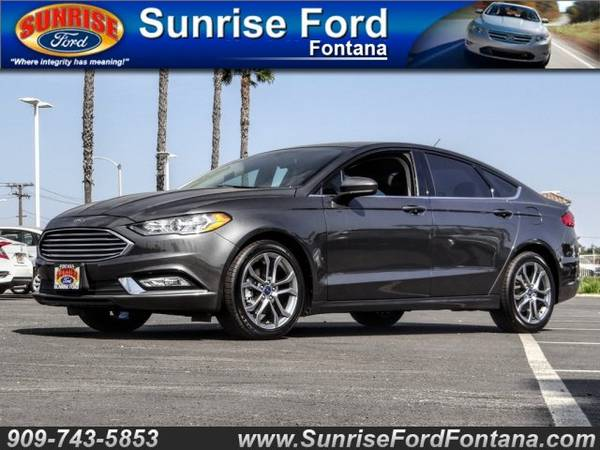 Photo 2017 Ford Fusion SE FWD  CALL TODAY .. DRIVE TODAY O.A.D.  ( FAST APPROVALS SE HABLA ESPANOL )