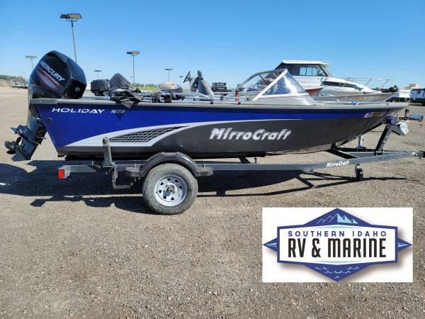 Photo 2017 Holiday 1628 Mercury 60HP - $19,995 (Jerome Southern Idaho RV  Marine)