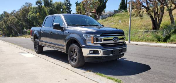 Photo 2018 Ford F-150 XLT 5.0 V8 4x4 ( salvage title ) - $19800 (van nuys california)