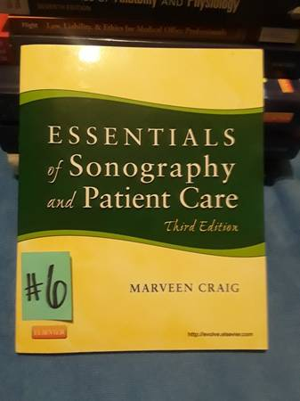 Photo (6)Essentials of Sonography  Patient Care. - $14 (San Fernando)