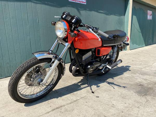 Photo 75 YAMAHA RD350 STREET LEGAL VINTAGE RARE, COLLECTIBLE CLASSIC. BEAUTY - $6,500 (North Hollywood)