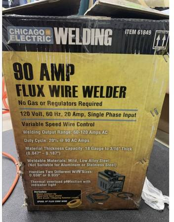 Photo 90  welder almost new - $85 (Simi Valley)