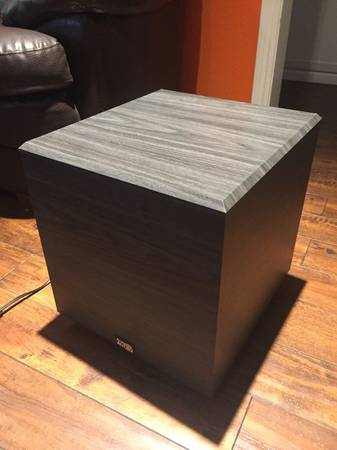 Photo Acoustic Audio 12quot 500w RWSUB12 Home Theater Powered Subwoofer Black - $120 (Mission Hills)