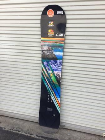 Photo BRAND NEW Lib Tech Travis Rice HP Snowboard 157 blunt - $550 (Venice)