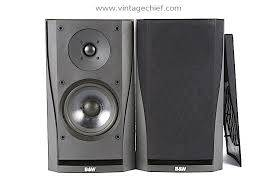 Photo BW Bowers And Wilkins Speakers Model DM 302 - $200 (Westwood)