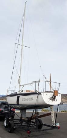 Photo Beautiful 2539 Foot Merit (Cruising or Racing) Sailboat Sail Boat - $3,900 (Peoria AZ)