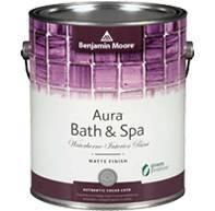 Photo Benjamin Moore Aura Interior Semigloss Bath and Spa Paint For Sale - $50 (626)