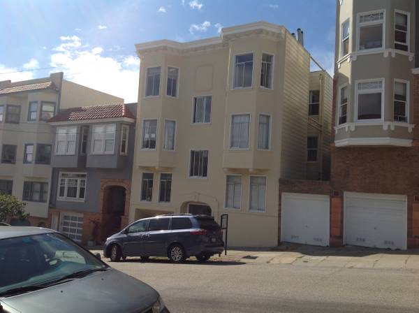 Photo Best location in San Francisco, 6 Apt., 3 Vacant  Garagestorage (San Francisco, Prime Russian Hill)