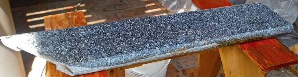 Photo Black Granite Rock Vanity or Table Top Remnant - $25 (Los Angeles - Please see Map Here)