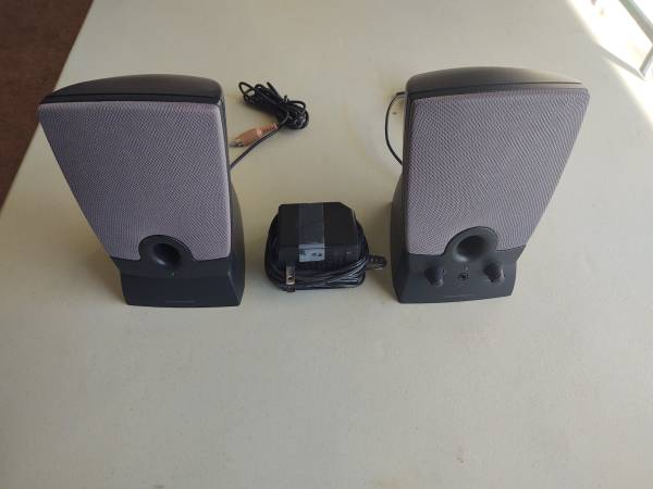 Photo Black Harman Kardon Desktop Computer Multimedia Speakers DPN 06941V - $35 (Simi Valley)