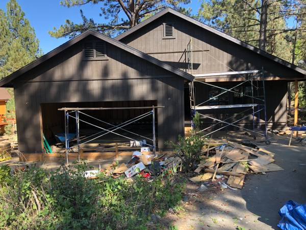Photo Brand new cabinhome for sale by owner- 2 car garage (Pine Mountain Club)