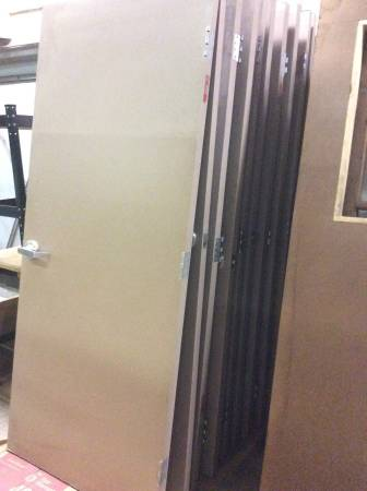Photo Commercial Grade Doors, solid core and glass - $45 (Subway garage)