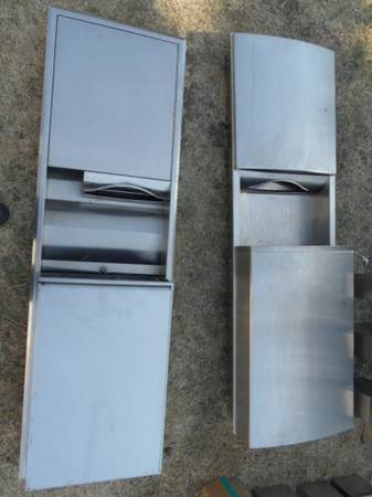 Photo Commercial  Public Restroom  Janitorial Accessories Stainless Steel - $10 (San Francisco Bay Area)