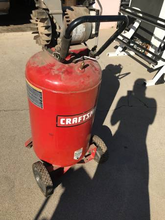 Photo Craftsman compressor as is non working FIRM - $30 (city of rosemead pick up)