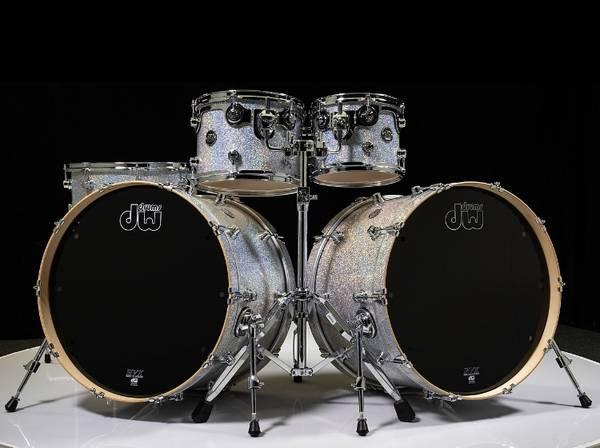 Photo DW Performance Series Diamond Nebula with Double Bass Drum MINT - $1,995 (Whittier)