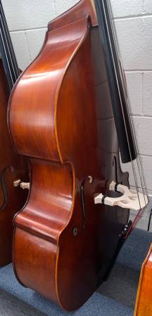 Photo Eastman Hybrid Double Bass 34 Carved Top Orchestral Jazz Standup Bass - $3,500 (Pasadena)