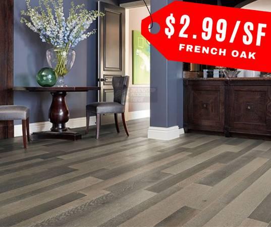 Photo Greyhawke French Oak Hardwood Flooring 4mm top layer - $3 (South El Monte)