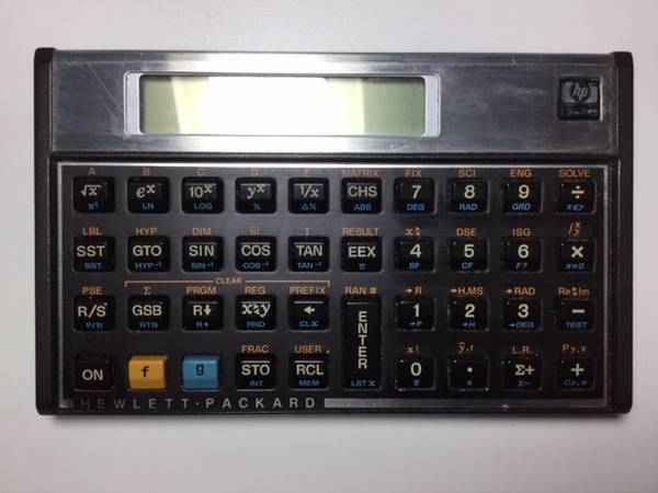 Photo Hewlett Packard HP-15C Programmable Scientific Calculator - $109 (Encino)