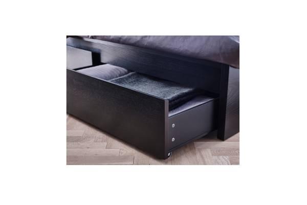 Photo IKEA FULL SIZE MALM BED, HAUGESUND MATTRESS LIKE NEW FULLY ASSEMBLED.. - $495 (PASADENA)