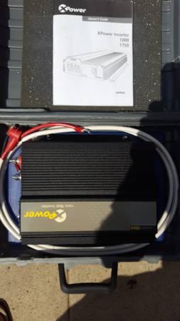 Photo Inverter 1000 Watt Constant  1750 Peak Watt by Xantrex NEVER USED - $229 (Marina del Rey)