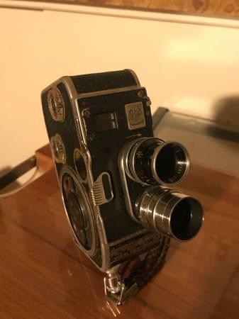 Photo Kern Paillard Wollensak 13mm f1.9 Lenses  Bolex B8 8mm Camera - $55 (City of Industry, Rosemead)
