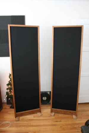 Photo Magnepan MG-IIA Planar Speakers Fresh Rebuild - $475 (Westchester)