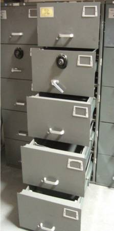Photo Mosler GSA Approved 5 Drawer File Cabinet Safe Heavy Duty - $550