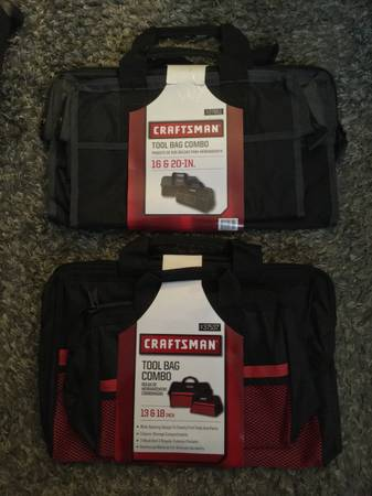 Photo NEW $10-20 Craftsman Tool Bags sets 16  20 and 13  18 - $20 (Sunland)